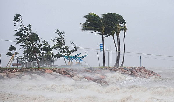 Tormenta tropical Franklin toca tierra en Quintana Roo