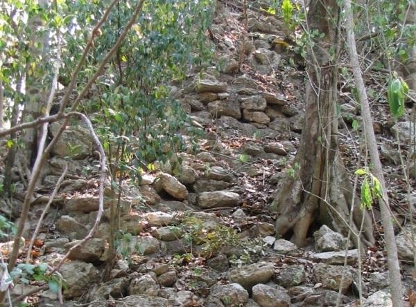 El Cafetal antigua Ciudad Maya formada por mas de 80 monticulos que se ubican en una superficie de cuatro hectareas (2)