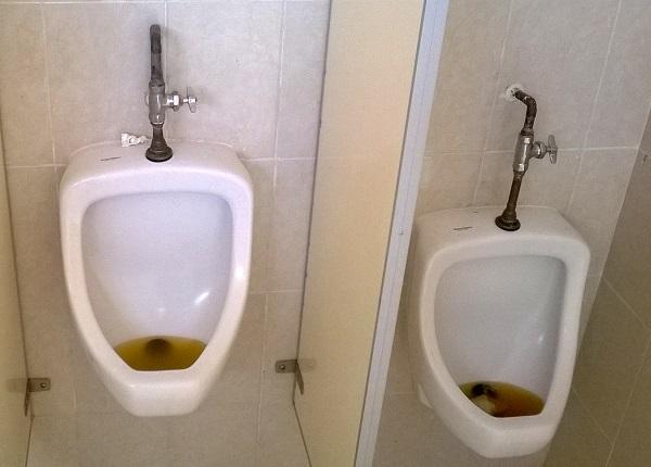 Ba o p blico sucio y sin agua corriente for Wc sin agua