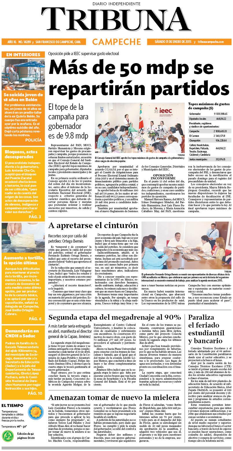 PortadaCampeche-31-ENE-2015
