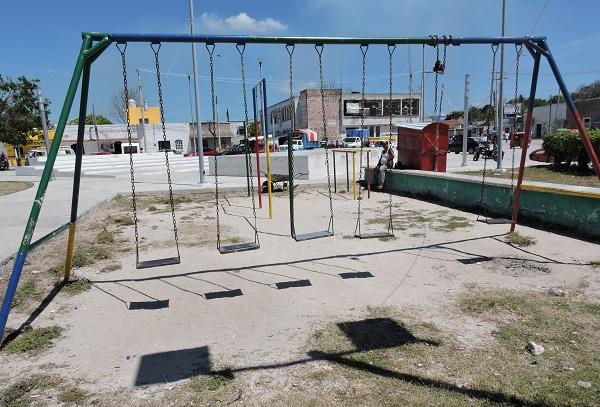 Parques Abandonados Juegos Infantiles Viejos