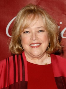 PALM SPRINGS, CA - JANUARY 06:  Actress Kathy Bates arrives at the 20th anniversary of the Palm Springs International Film Festival Awards Gala presented by Cartier held at the Palm Springs Convention Center on January 6, 2009 in Palm Springs, California.  (Photo by Michael Buckner/Getty Images)