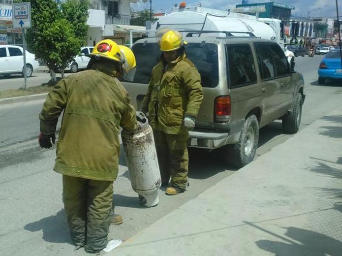 Evitan explosi n de tanque de gas butano tribuna campeche for Tanque de gas butano