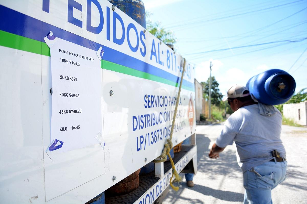 Alcanza 1.95 pesos el kilogramo de gas LP