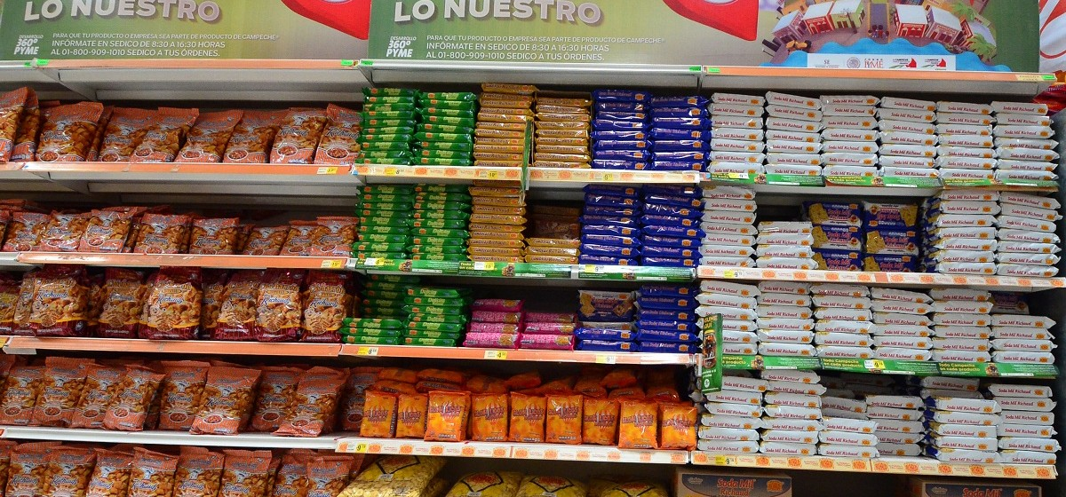 12.-Productos Campechanos en Supermercados.