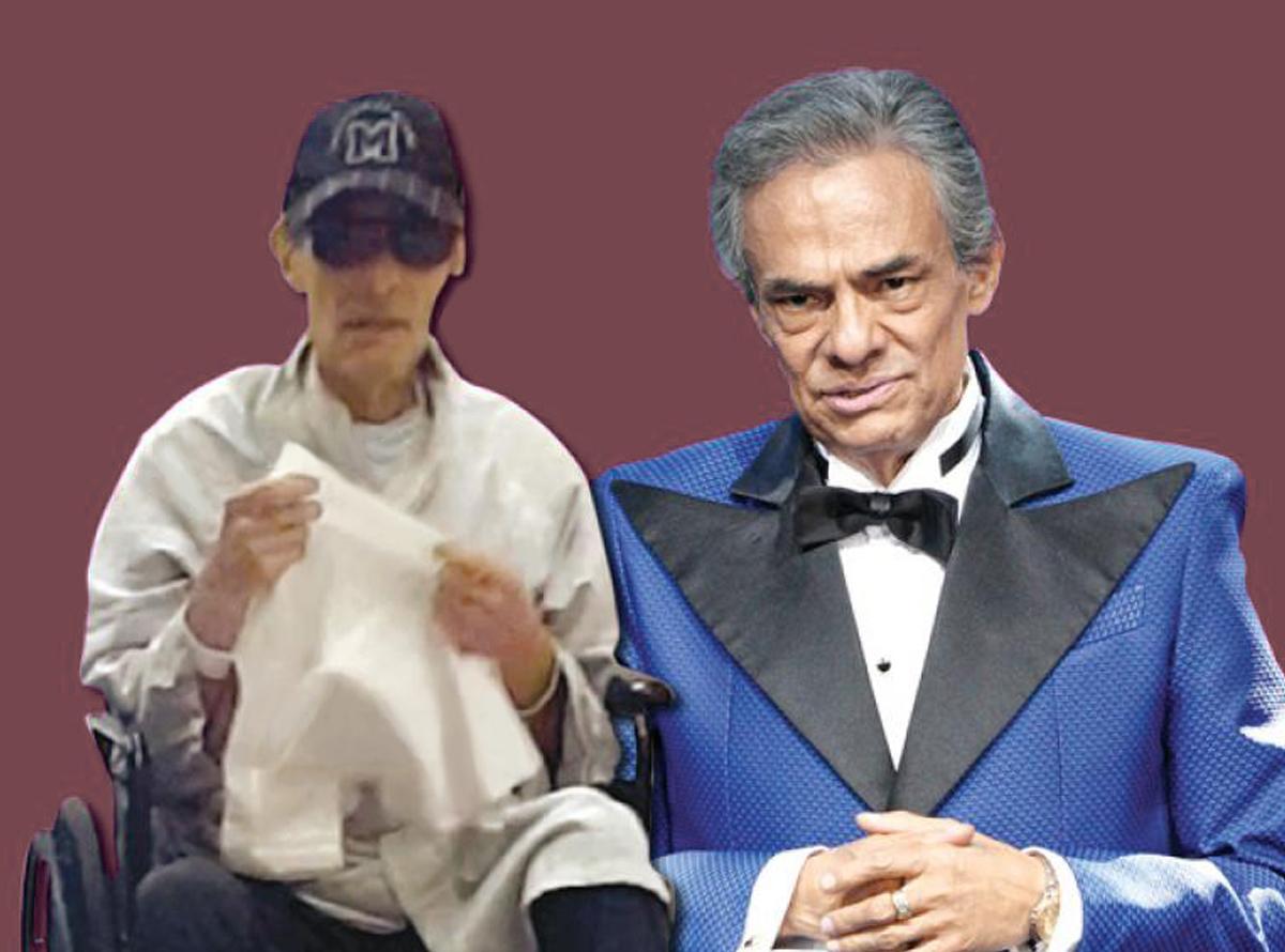 José José fue hospitalizadoJosé José fue hospitalizado