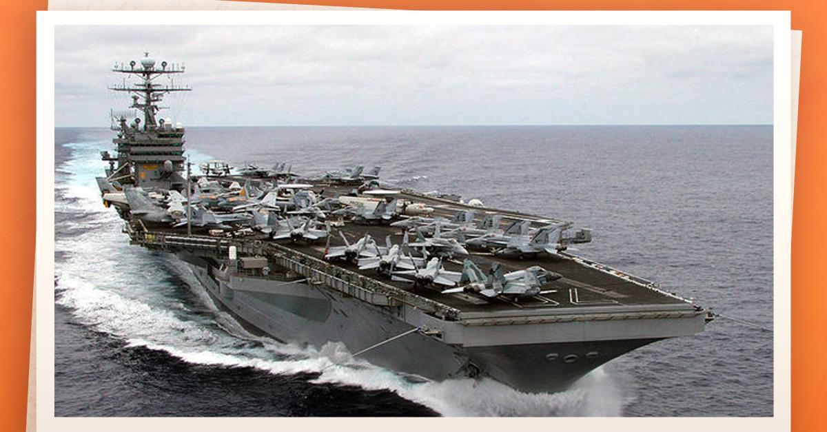 Corea de Norte amenaza con atacar y hundir portaaviones de EEUU