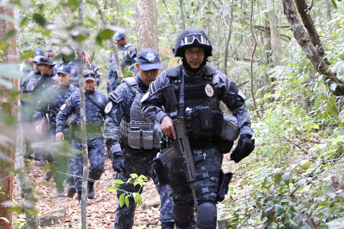 llega gendarmer237a a reserva de la biosfera