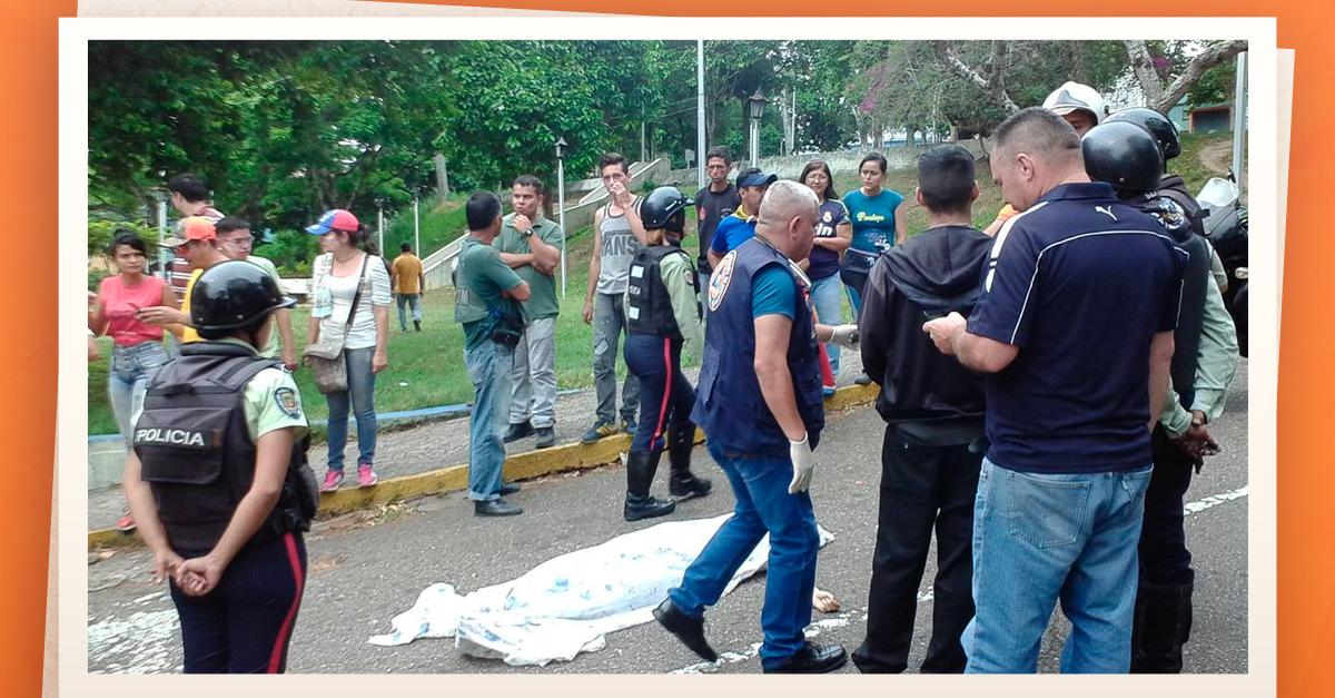 Disparo Venezuela