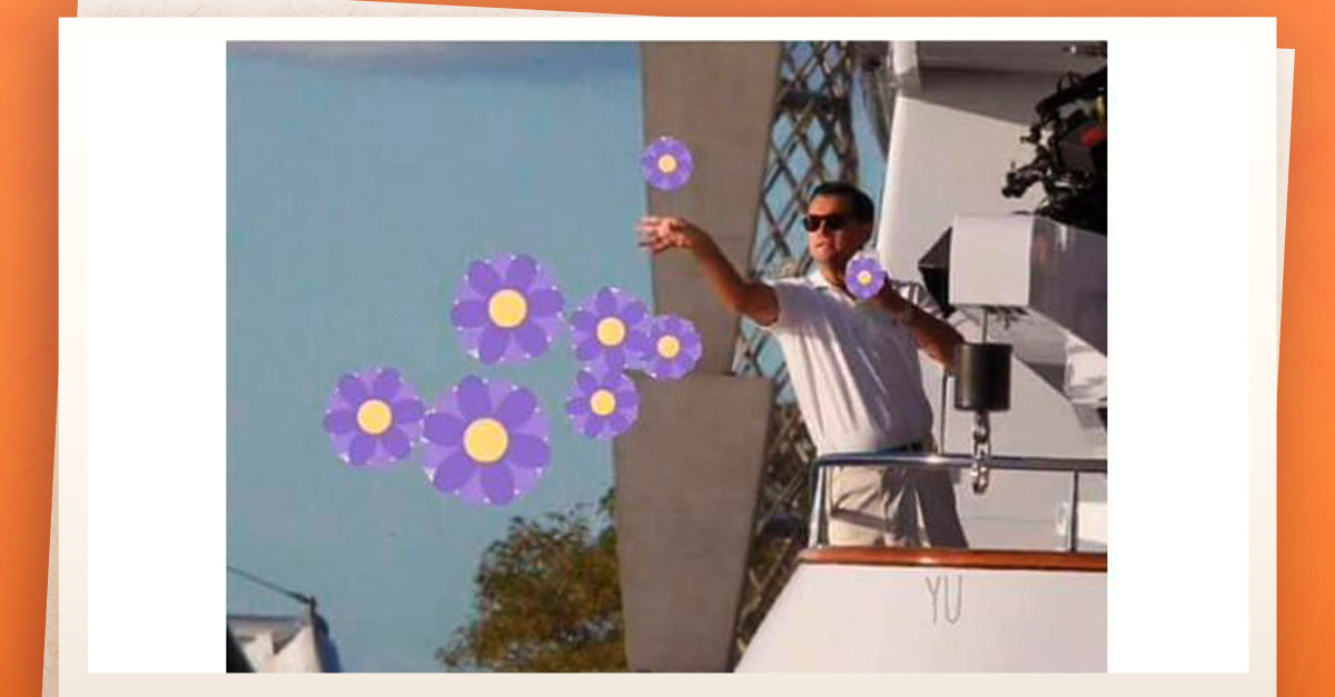 Regresa el #MeEnflorece a las reacciones de Facebook