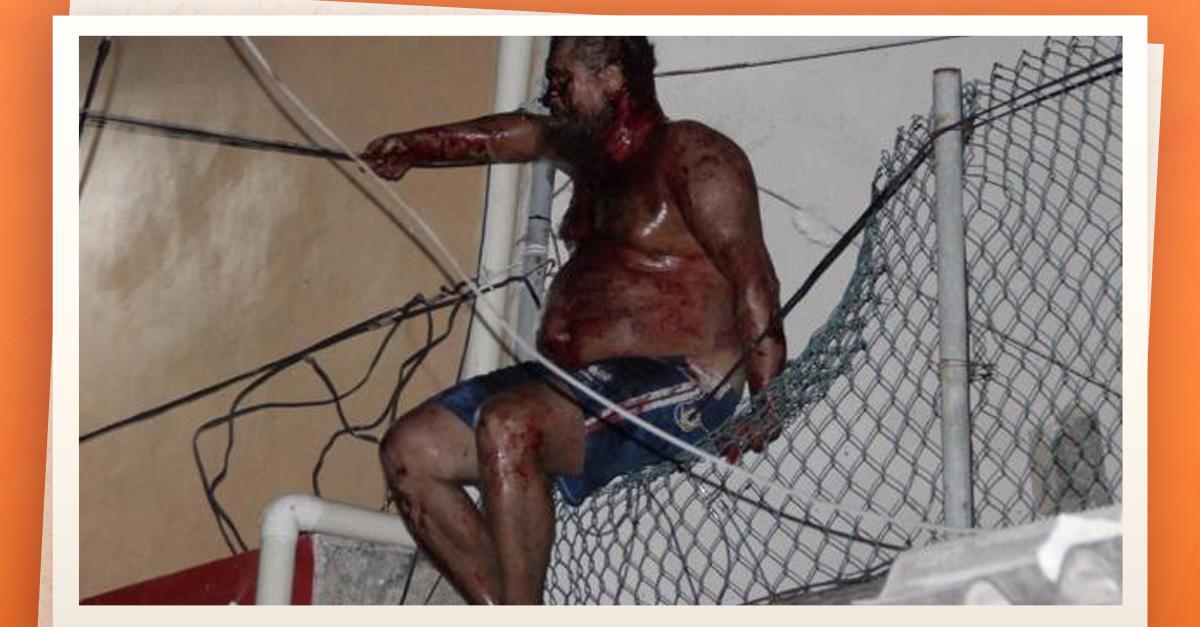 Se burlan con selfie de #LordNaziRuso en hospital de Cancún