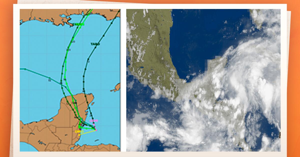 Tormentas intensas afectarán sureste del país y Península de Yucatán