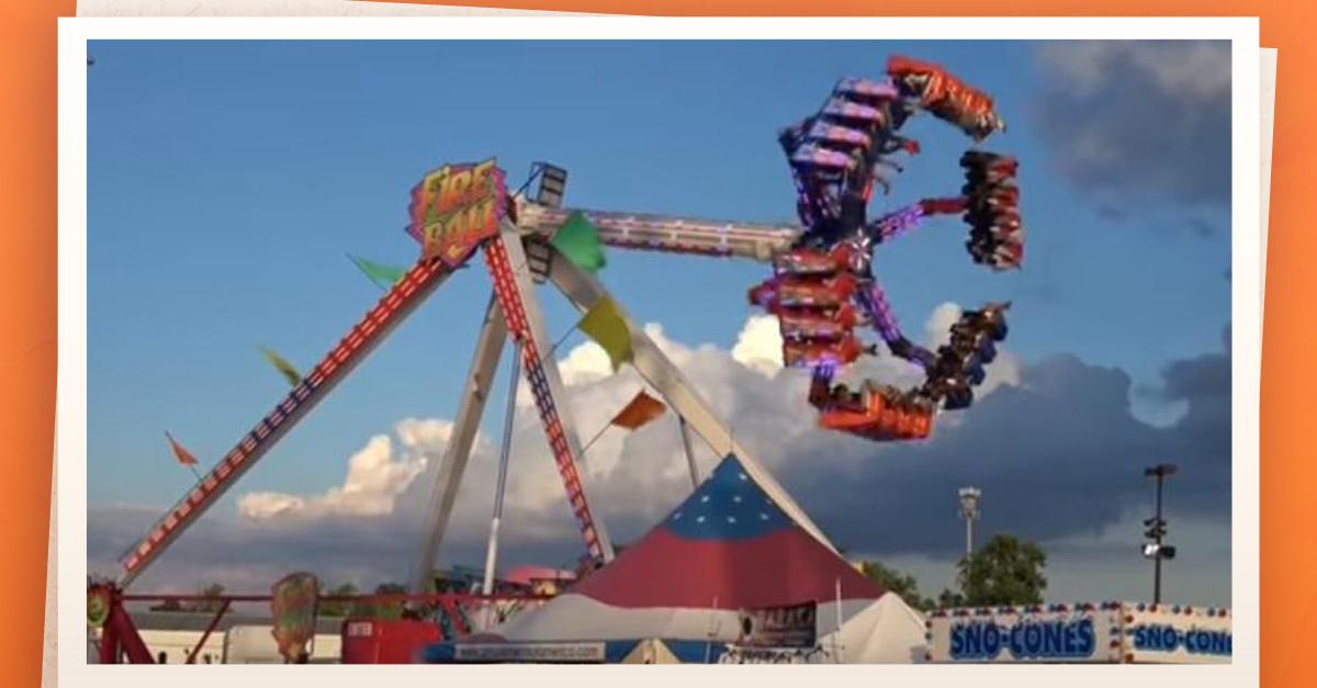 Se Desprende Juego Mecanico En Feria De Ohio
