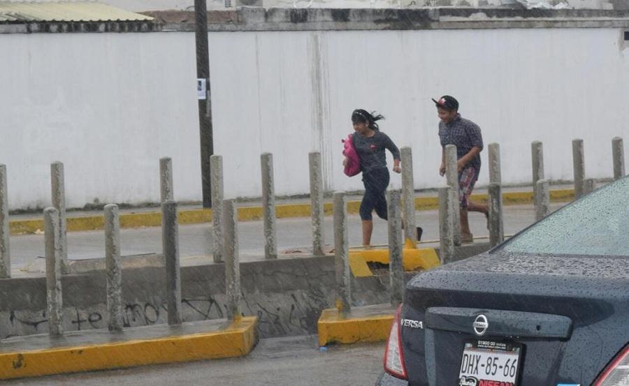 Activada alerta roja por Franklin en Puebla, Tlaxcala, Hidalgo y Veracruz