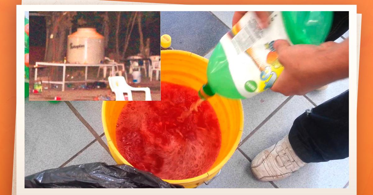 Se intoxican estudiantes con bebida agua loca en Guanajuato