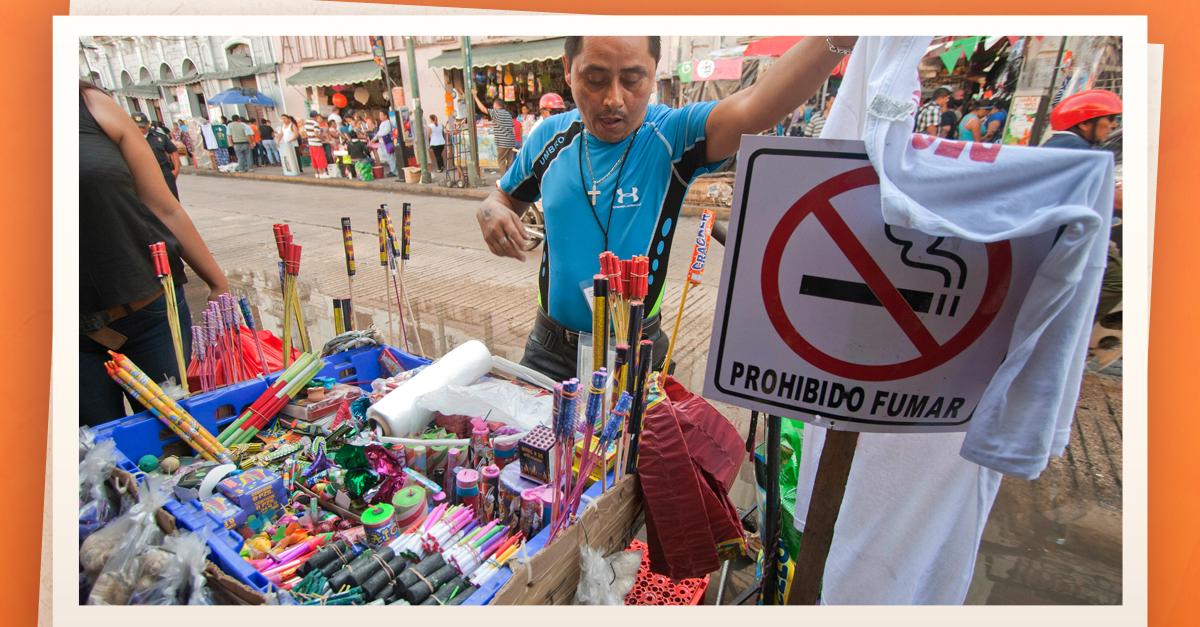 Exhortan A Prevenir Accidentes Con Petardos Y Juegos Navidenos