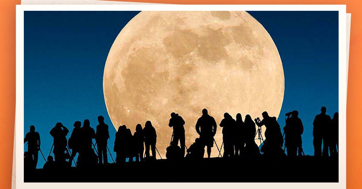 Súper Luna coronará el primer día del 2018