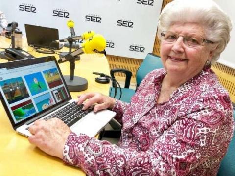 Esta abuelita de 84 años crea los mejores dibujos ¡en Paint — Galería