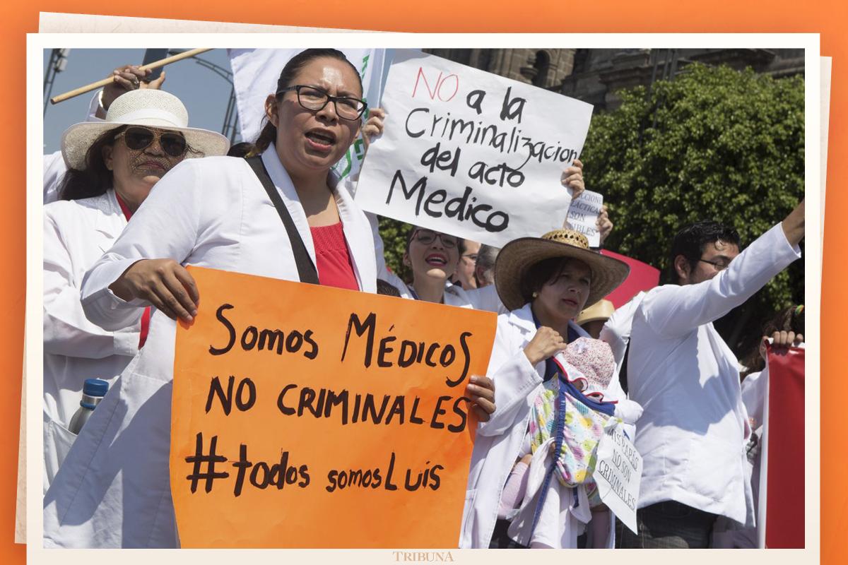 Médicos convocan a paro nacional por detención de doctor acusado de negligencia