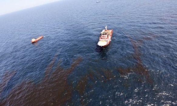 Grave contaminación en la Sonda de Campeche